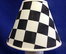 Racing Flag Lampshade Nascar Indy Car Handmade Lamp Shade