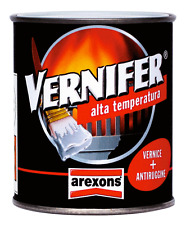 Vernifer alta temperatura 400 °C.  smalto vernice + antiruggine colore alluminio