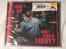 Whoo's Afraid Of Fiddy? [PA] by DJ Whoo Kid (CD, Nov-2009)- NEW/SEALED- 50 Cent