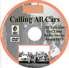 Calling all Cars - 297 episodes Old Time Radio Shows -   MP3 DVD