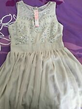 BNWT Lipsy Embellished Hush Violet Size 14 UK RRP £70 Cocktail Party Prom Dress