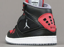 NIKE MEN'S JORDAN 1 FLIGHT SIZE 11.5 (black and red)