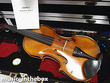 Germany CONRAD GOTZ Brand-4/4 High Level Hand-Made Flamed Back Violin+ Wood Case