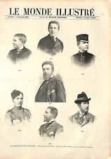 PORTRAIT Louis Philippe Robert Duc d'Orléans Prince Duke FRANCE GRAVURE 1896