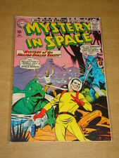 MYSTERY IN SPACE #96 VG+ (4.5) DC COMICS DECEMBER 1964 **