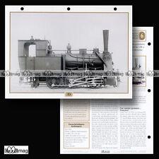 #029.08 Fiche Train - LA LOCOMOTIVE VAPEUR T3 Type 030 T depuis 1878 - ALLEMAGNE