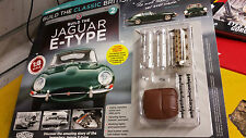 BUILD  THE  JAGUAR  E - TYPE,1 : 8 SCALE ISSUE =2 ONLY AVAILABLE till 2 MAY
