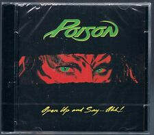 POISON OPEN UP AND SAY...AHH! CD F.C.  SIGILLATO!!!
