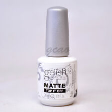 Harmony Gelish Matte Top Coat Sealer Gel Nail Polish Top coat .5oz