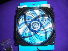 2 PCS Game Demon 12cm / 120mm Blue Ultra Silent LED PC Case Fan with Screws