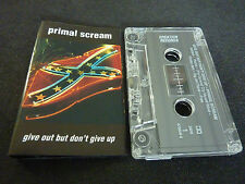 PRIMAL SCREAM GIVE OUT BUT DON'T GIVE UP ULTRA RARE AUSSIE CASSETTE TAPE!