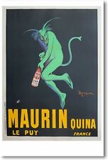 Maurin Quina Le Puy France - NEW Vintage Reprint POSTER