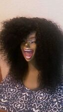 100% human  Brazilian deep curly full wig (PLEASE READ THE DETAILED LISTING)