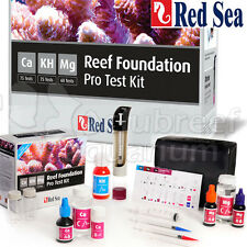 Reef Foundation Pro Master Test Kit Ca | KH | Mg Coral Health & Growth Red Sea