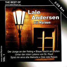 "LALE ANDERSEN ""Lili Marleen"" 2CD-Box NEU & OVP radio78rpm pressing 40 Tracks"