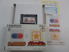 Dr Mario & Panel de Pon Game Boy Advance  GBA Japan Ver