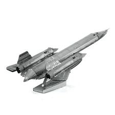 Fascinations Metal Earth Work 3D Laser Cut Steel Model Kit SR-71 Blackbird Plane