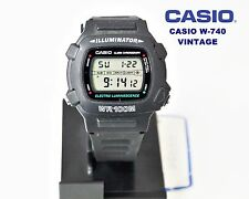 VINTAGE NEW! CASIO Collection W-740 ELECTRO LUMINESCENCE