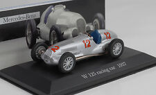 1937 Mercedes-Benz W125 #12 Racing car silver  1:43 IXO Altaya Collection 41