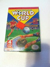 NEVER OPENED WORLD CUP SOCCER AND WORLD GAMES  Nintendo NES Game SEALED NEW! +++