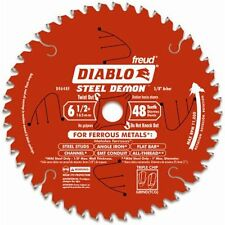 "Freud Diablo Steel Demon D0648F Circular Saw Blade, 6-1/2"", 48 Teeth, 5/8""Arbor"