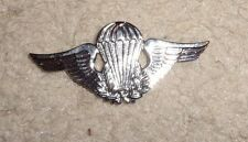 BRAZIL PARACHUTE BADGE,CURRENT MADE FOR U.S. QUALIFIED RECIPIENTS CLUTCH BACK