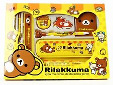 Rilakkuma Stationery Set School Educational Birthday Party Kids Gift FREE SHIP