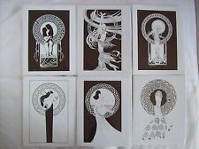 CELTIC & ARTHURIAN GODDESS GREETINGS CARDS SET OF 6 SIGNED RRP £2.75 EACH