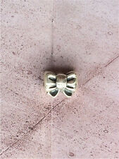 Authentic Pandora Sterling Silver BOW TIE CHARM BEAD 791204