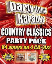 PARTY TYME KARAOKE-COUNTRY CLASSICS PK CD NEW