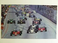 1984 Long Beach Formula 1 Grand Prix Print Picture Poster RARE!! Awesome L@@K
