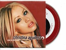 CHRISTINA AGUILERA COME ON OVER RARE FRENCH CDS IN CARD PS