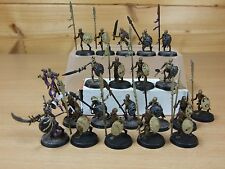 20 PLASTIC UNDEAD SKELETON WARRIORS PAINTED (780)