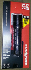 Surefire Nitrolon G2 LED -80 Lumen- con Testa Metal T-6061 -2 Batterie CR123A -