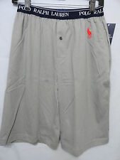 NWT mens POLO RALPH LAUREN pajama shorts Gray, SMALL, retail $32