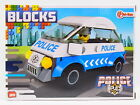 LOT 32676 Blocks Bausteine Set POLICE Polizeiauto Polizei Auto 88 Teile NEU OVP
