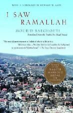 I Saw Ramallah, Mourid Barghouti, Good Book
