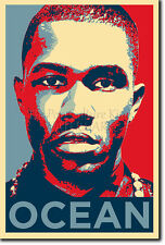 FRANK OCEAN PHOTO PRINT 2 POSTER GIFT (OBAMA HOPE INSPIRED)