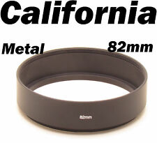 82mm Universal Screw in Mount Metal Lens Hood f Canon Nikon Pentax Sony Olympus