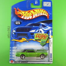 HOT WHEELS 2002 -  ´68 Cougar  -  First Edition - 029 -  US-Card - neu in OVP