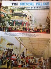Ephemera 1965 Article The Crystal Palace Exhibition 2 Pages