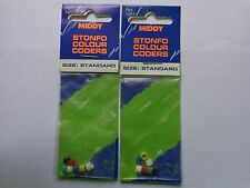 Middy Tackle Stonfo colour coders standard size 2 packs of 5 different colours