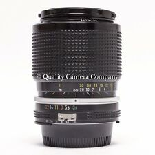 Nikon 43-86mm f/3.5 AI Zoom - MINTY MANUAL FOCUS IMMACULATELY CLEAN GREAT OPTICS