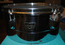 """Late 1960's/Early 1970's Majestic 14"""" x 6-1/2"""" Deep Chrome Timbale"""