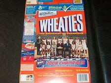 2008 WNBA champs wheaties box Detroit Shock