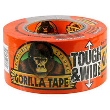 GORILLA TAPE BLACK TOUGH & WIDE EXTRA THICK 100% WATERPROOF DUCT DIY 27M X 73MM