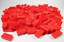 LEGO Red Brick 2x4 - Brand New (Lot of 150 Pieces)