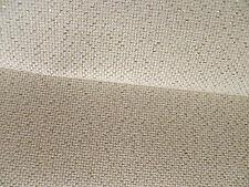 3 pieces Zweigart cream with gold lurex thread 14 count Aida  15cm x 20 cm