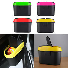 New Rubbish Bin Trash Can Organizer Box for Car Trash Bag Garbage Can 4 Colors