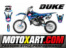 Full Custom Graphic Kit Yamaha YZ 85 - 2002 - 2014 DUKE style sticker kit